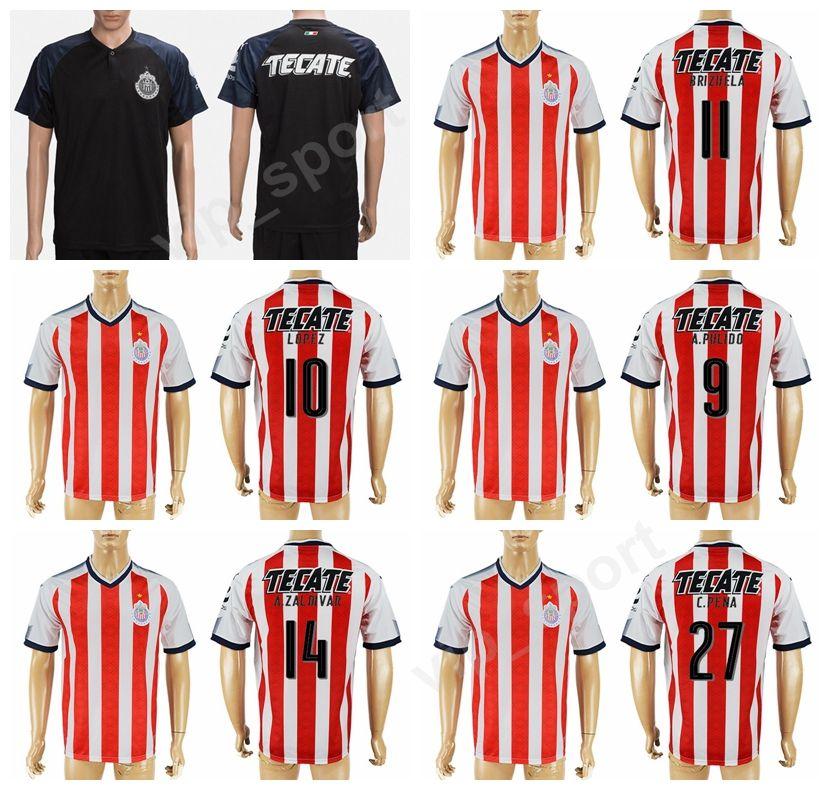 the best attitude be8a7 b241a best guadalajara 10 lopez blue soccer club jersey c7736 afe53