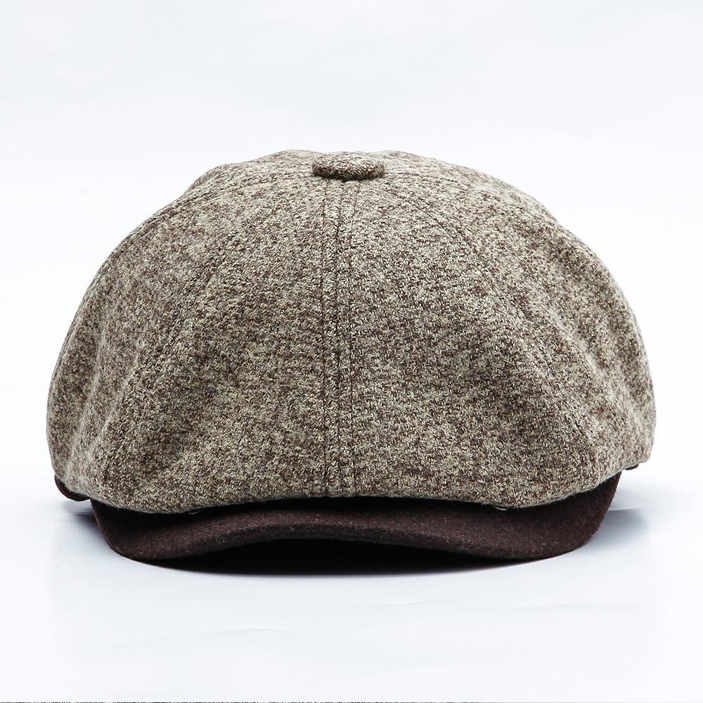 Compre JAMONT Hombres Nuevos Gorra Tweed Sombrero Gorra Octogonal Otoño  Invierno Papá Sombreros Hombres Invierno Cálido Vendedor De Periódicos  Sombreros ... e30ebc5ff76
