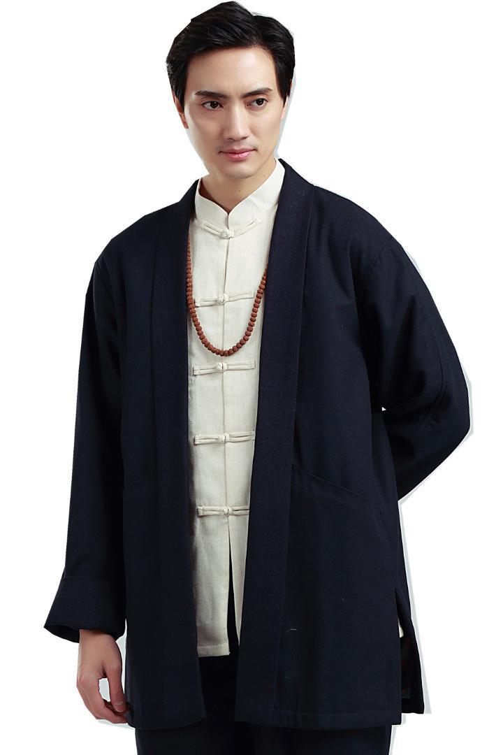 Acquista Shanghai Stroy Abbigliamento Tradizionale Cinese Kungfu Da Uomo  Cappotto Giacca Tang Vestito Top Kung Fu Vestiti Cinesi Trench Top Uomo A   78.7 Dal ... 0c62fcab7a0