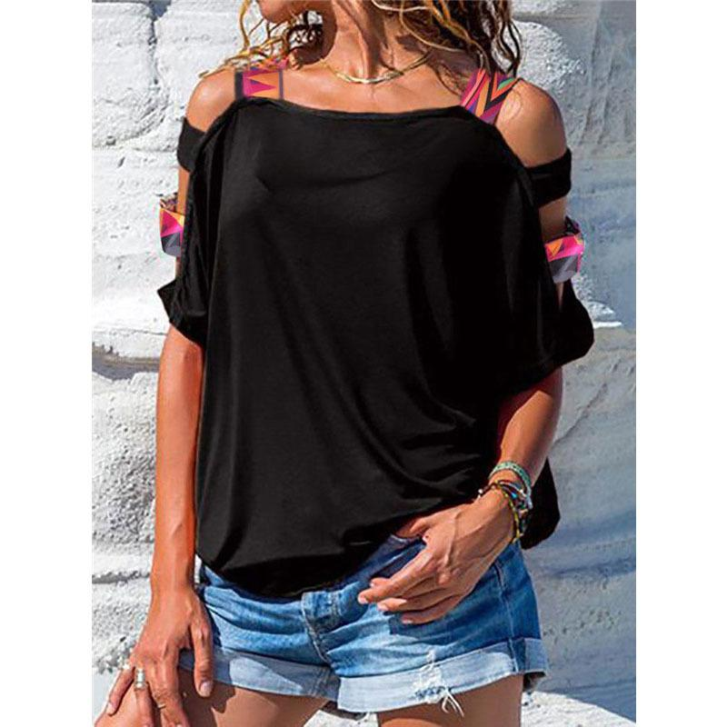 2d08e3194d193 2018 New Off Shoulder T Shirt Women Summer Loose Tops Tee Shirt Short  Sleeve Ladies Casual Singlet Tops Design And Buy T Shirts Tee Shirt Online  Shopping ...