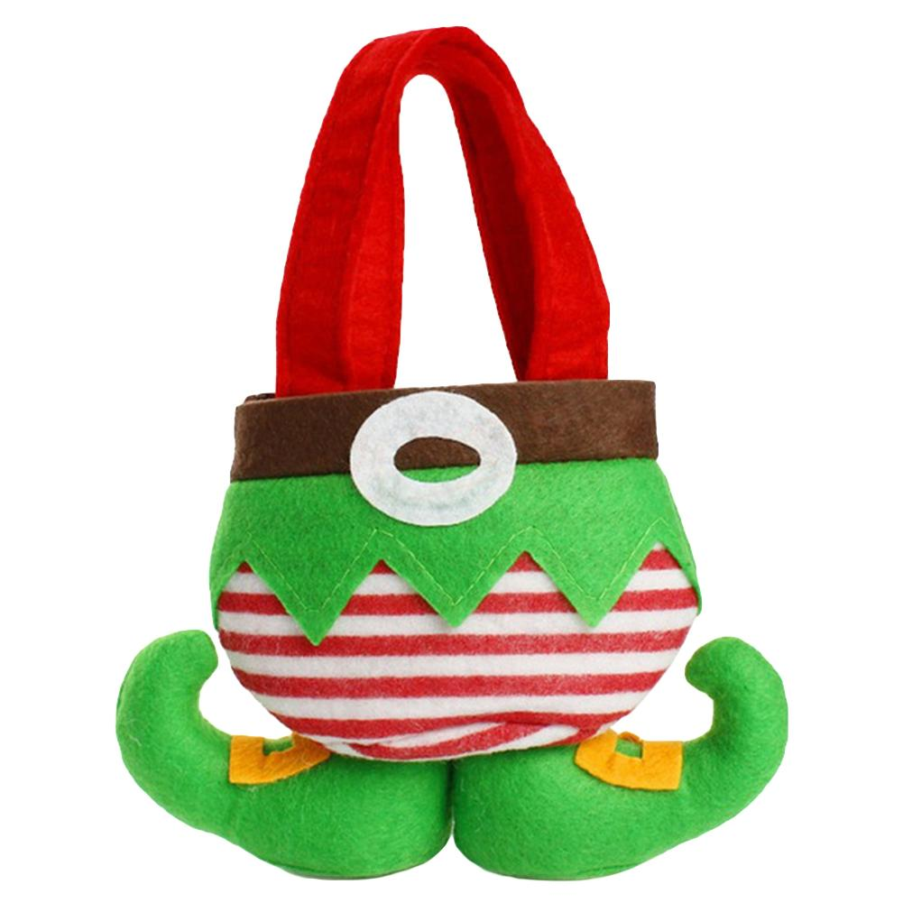 Lovely Christmas Gift Bag Santa Spirit Candy Pouch Wedding Holiday ...