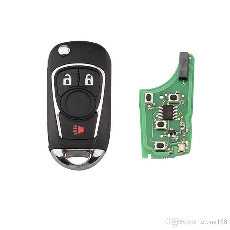 4 Buttons Chip Modified Flip Folding Remote Key For ...