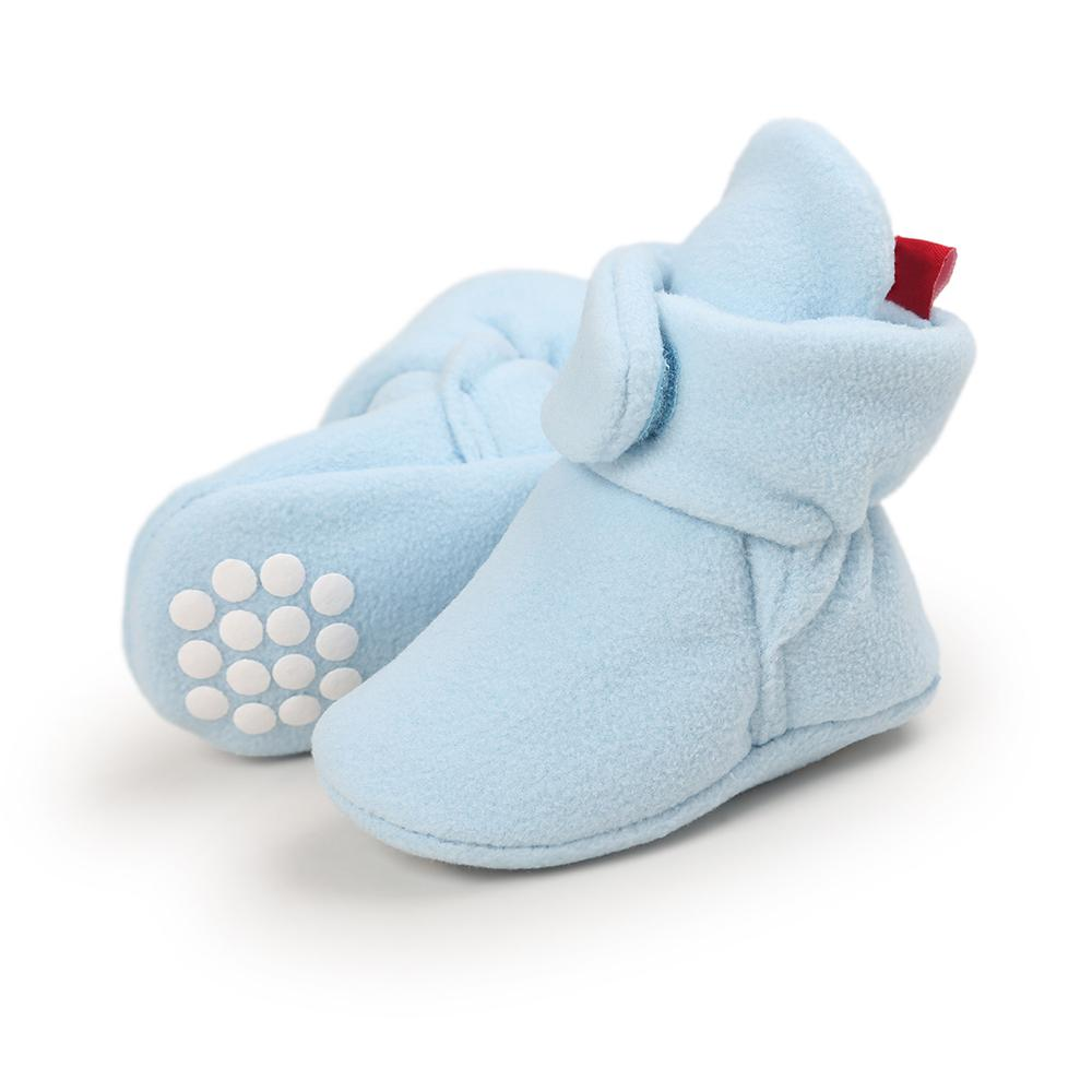 86b4ca83605e6 2019 New Born Baby Shoes Bootie Winter Warm First Walkers Infant Toddler  Crib Shoes Classic Floor Newborn Boys Girls Boots From Curd