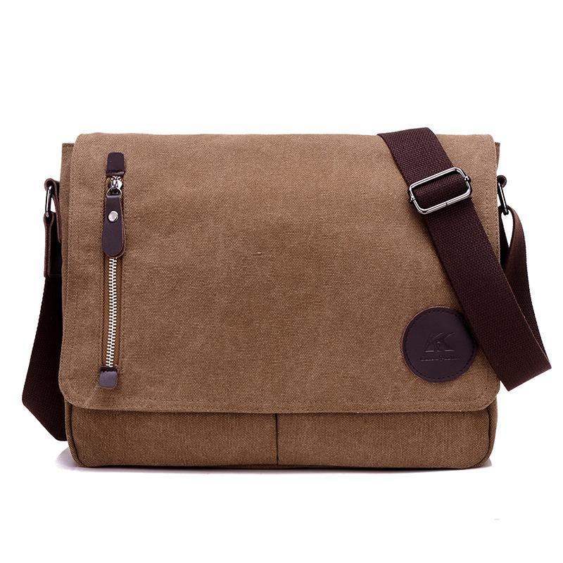 de47d04fd788 Vintage Men Canvas Messenger Bags Black Travel Bag Male Shoulder Crossbody  Bag Classical Casual Trunk Unisex Big Handbags