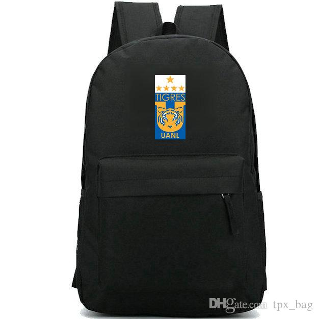 cffad5aa12 UANL Backpack Tigres Daypack Estadio Universitario Football Club Schoolbag  Soccer Badge Rucksack Sport School Bag Outdoor Day Pack Girl Backpacks  Toddler ...