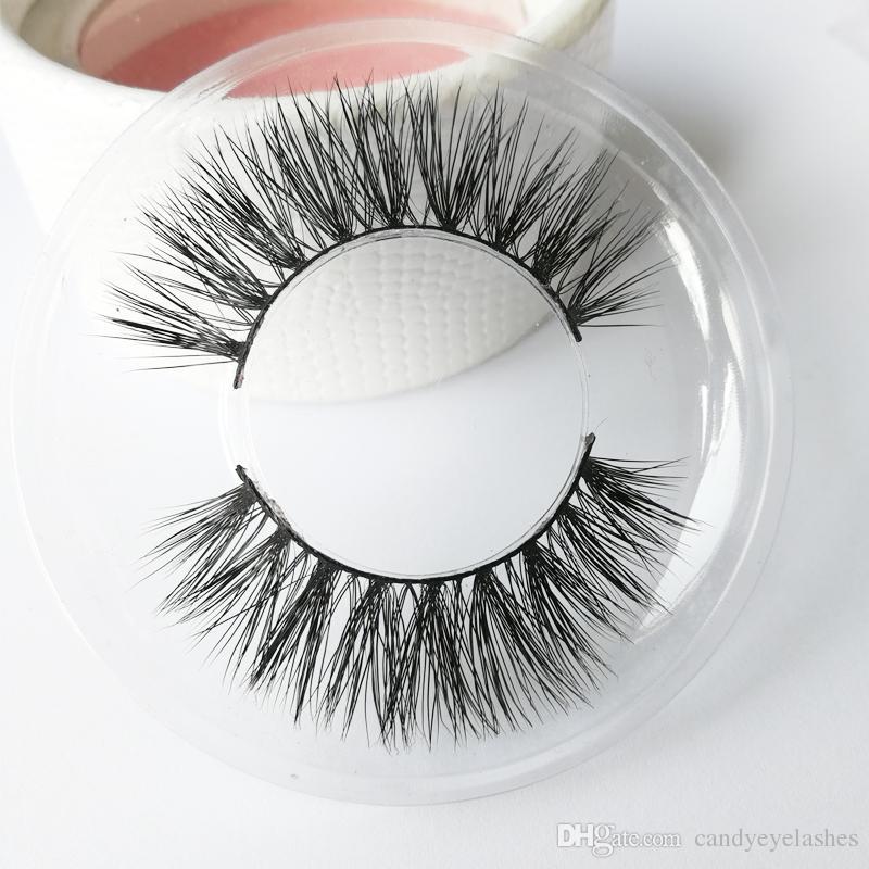 PRIVATE LOGO custom package Mink hair eyelashes False eyelashes 3D mink hair Natural nude makeup long eyelashes Factory direct wholesale