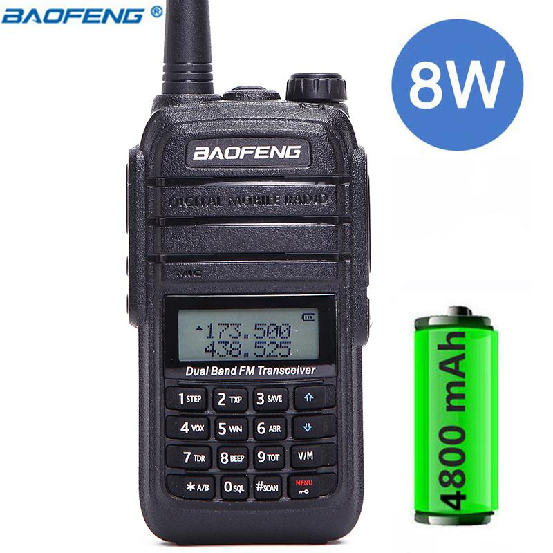 Baofeng UV-B9 8W Powerful walkie talkie 10 km long range cb radio comunicador outdoor Two Way Radio for Hunter With headset