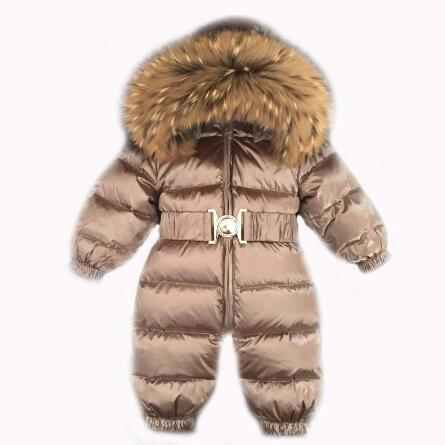 cce417702 Russia Winter 30 Jumpsuit Kids Winter Snowsuit 12M 4T Baby Jumpsuit ...