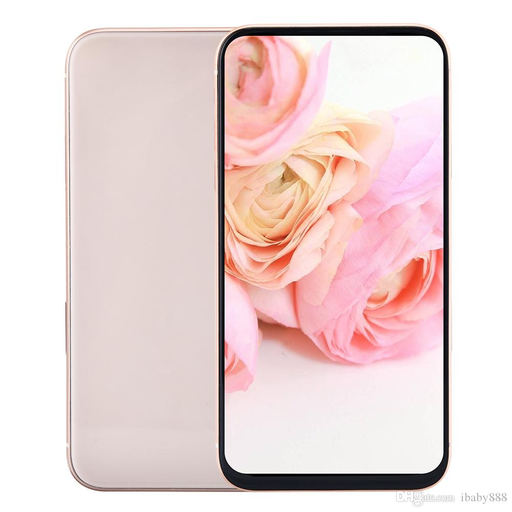 5.8 inch All Screen Goophone XS V5 Clone 3G WCDMA 1GB 16GB+32GB Face ID Wireless Charger Quad Core MTK6580 Android 7.0 8MP Camera Smartphone