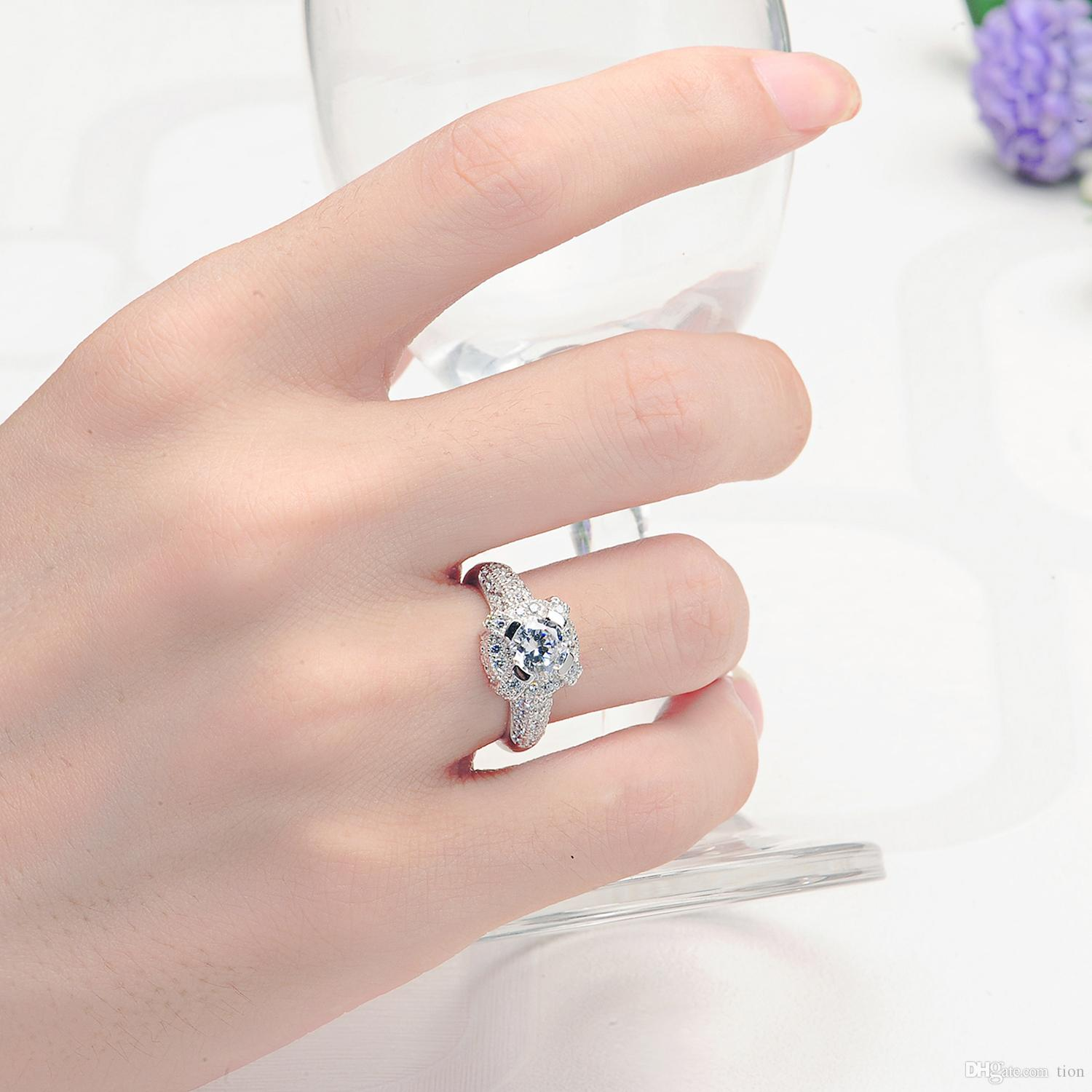 925 Sterling Silver Jewellery Rings for Wholesale Wedding Jewelry ...