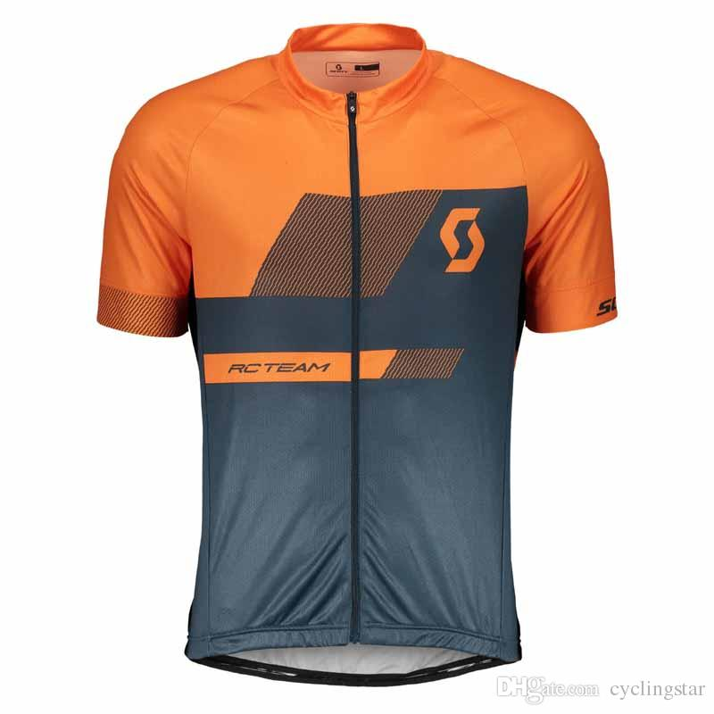 New SCOTT Cycling Jersey Mountain Bike Shirts 2019 Men s Maillot Ciclismo  Summer Outdoor MTB Bicycle Clothes Short Sleeve Racing Tops 010909 SCOTT  Cycling ... 21c83e132