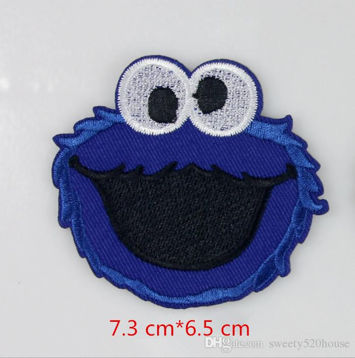 Cartoon Iron on Embroidered Clothes Patch For Clothing Girls Boys