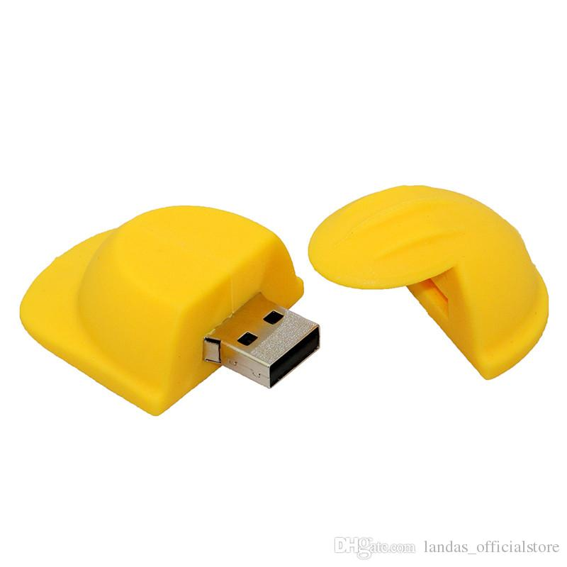 Nouveau Clé USB Pendirve 64 Go 4 Go 8 Go 16 Go 32 Go Clé USB Casque Clé USB Cadeau Personnalisé Clé USB Clé USB