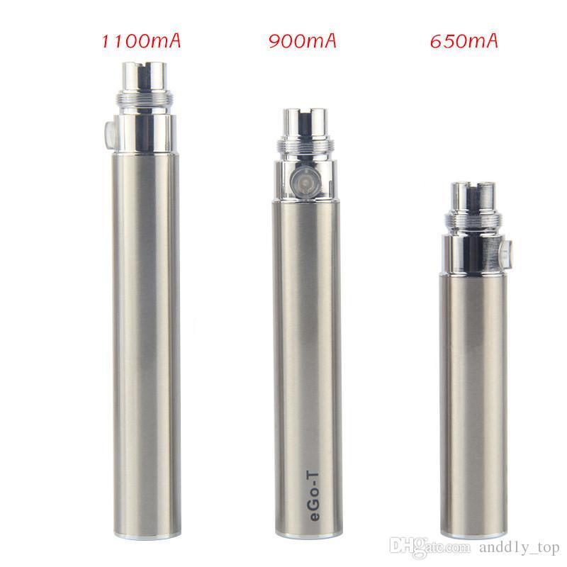 CE4 eGo Blister Kit Sigaretta elettronica cig e kit 650mAh 900mAh 1100mAh Ce4 Serbatoio EGO-T batteria blister Clearomizer Vape E-sigaretta Kit
