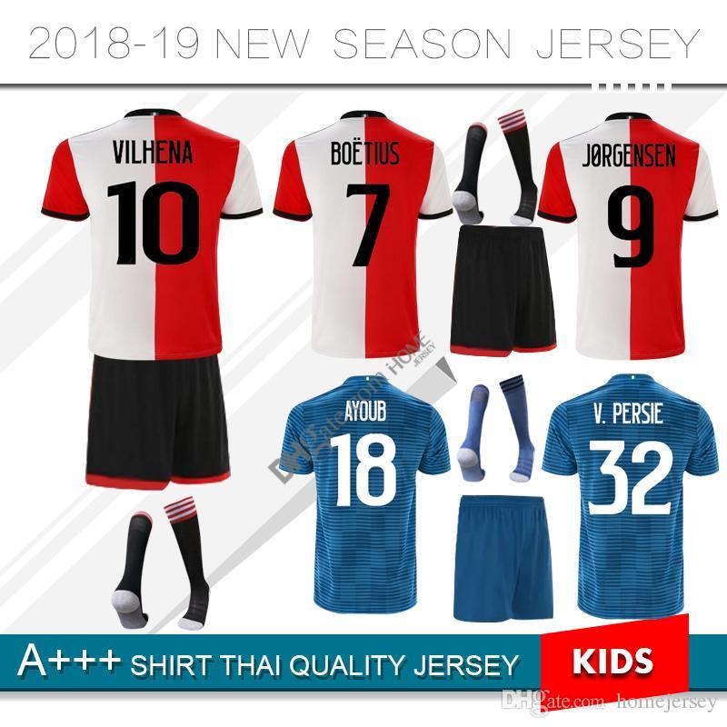 2018 2019 JORGENSEN Soccer Jersey BOETIUS BERGHUIS VAN PERSIE KUYT VILHENA  18 19 V.PERSIE Home Away Kit Football Shirt UK 2019 From Homejersey 5f4e03c71