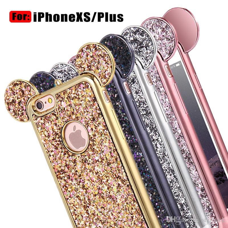 iphone xs plus case glitter