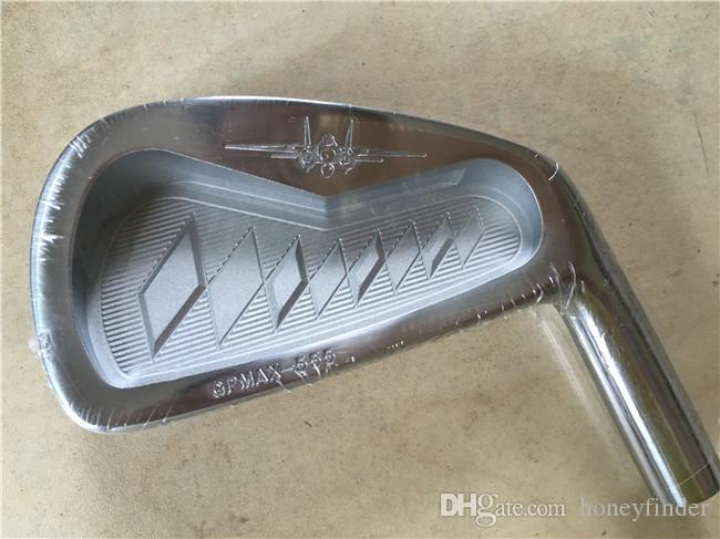 GP Platin Eisenset GP Platin Golf Forged Irons Golfschläger 4-9PAw Regular / Stiff Steel Shaft Mit Head Cover