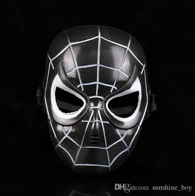 Film theme masks Iron Man Spider-Man Batman mask for Men children Full Face Party festival decoration