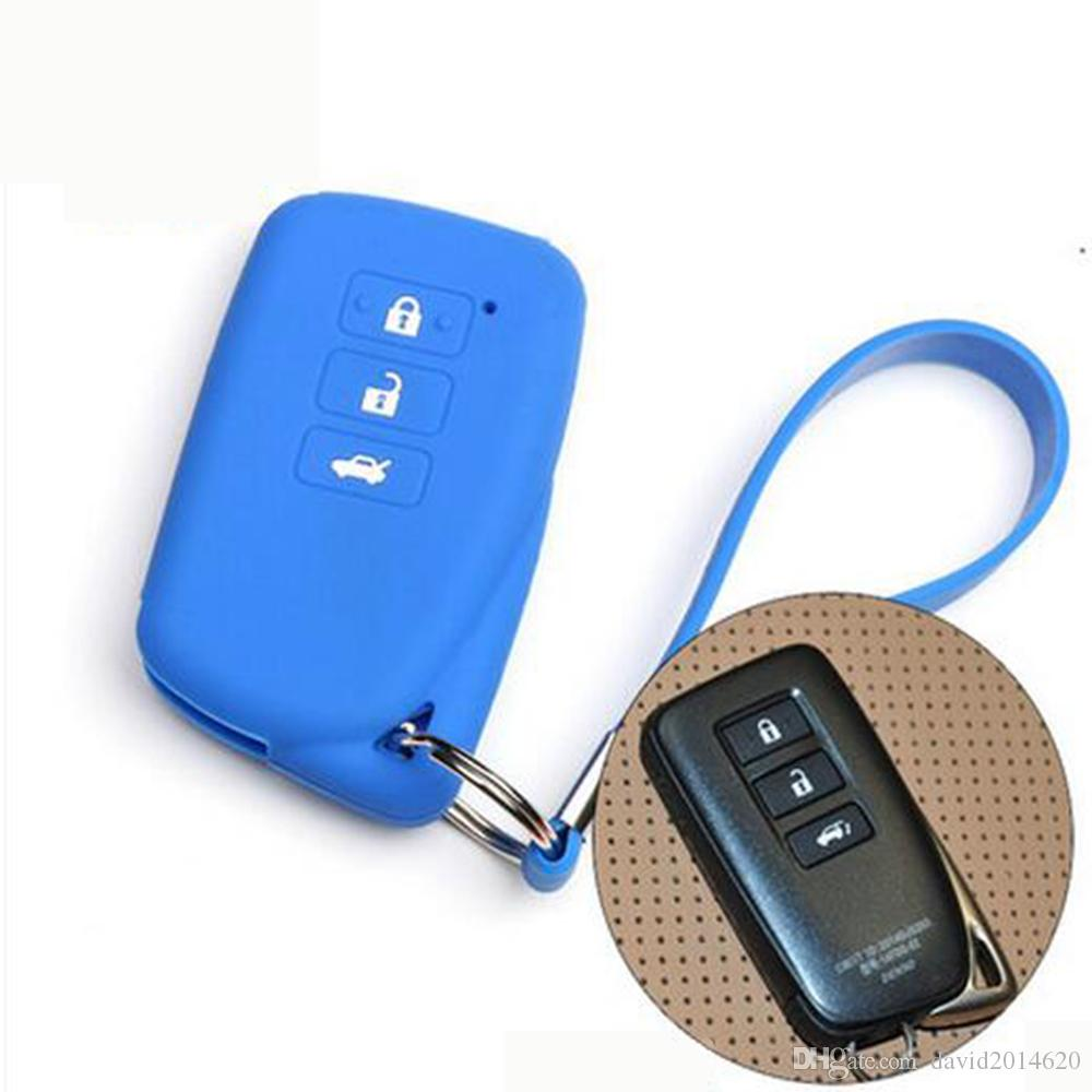 Keyless Entry Remote Key Cover Fob Skin Case Car Key Cover for Lexus ES300H 350 250 GS250 350 450 NX200 IS460 GX460 GS LS LX RX