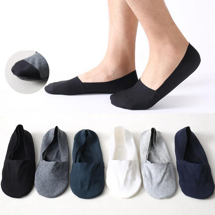 b9ce89422e7fe Unisex Low Cut Ankle Socks Casual Soft Cotton Sock Loafer Boat Non Slip  Invisible No Show Light And Comfortable Socks GGA842 Socks Guys Sock From  ...