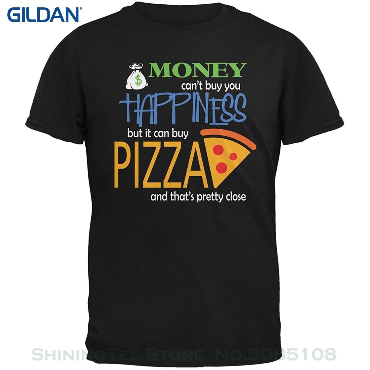 7396acd9 Wholesale Discount Cool T Shirts Designs Best Selling Men Money Happiness  Pizza Funny Black Adult T Shirt Shirts T Shirts T Shirts And Shirts From ...