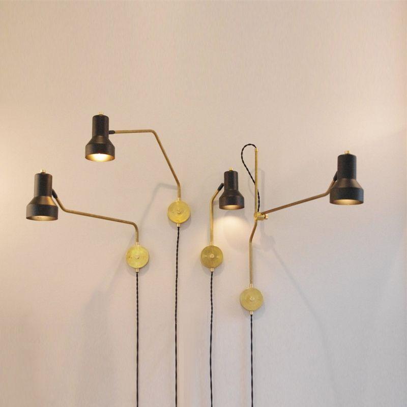 Bedroom Bedside Lamp Wall Lamp Simple Modern Aisle Corridor Hotel Golden Background Wall Lamp Led Lamp Led Lamps Lights & Lighting