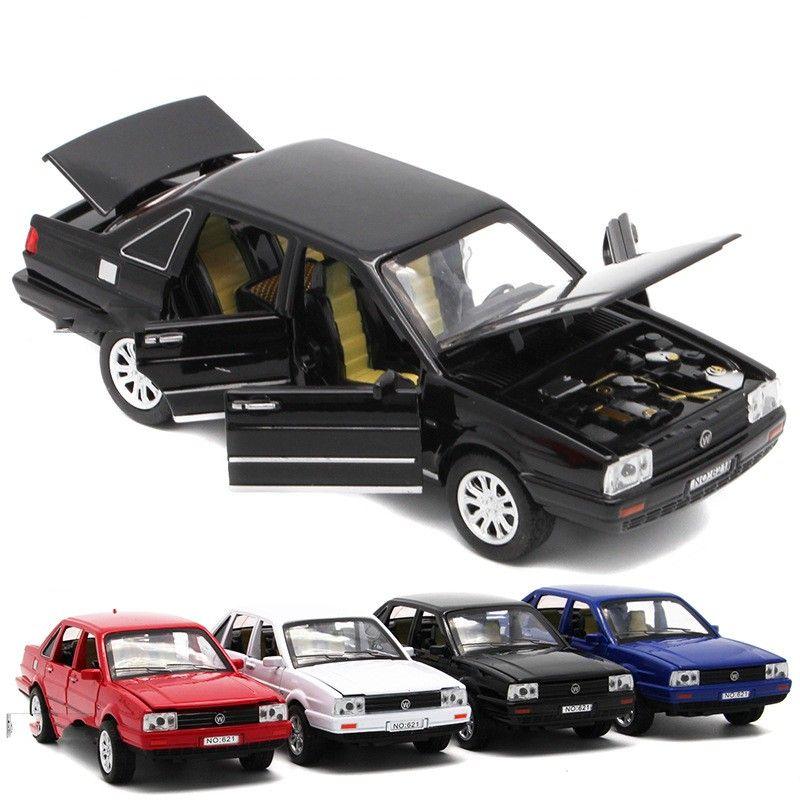 2018 1:32 Children Toy Car Alloy Santana Vw Automobile Classic ...