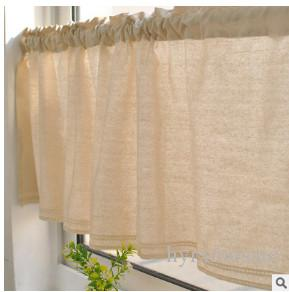 2018 Japanese Foreign Trade Cotton Lace Half Curtain Korean Coffee ...