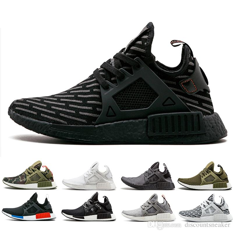 2192a83f01d9 NMD XR1 Sneaker PK Zebra Core Triple Black OG Running Shoes Men Women  Mastermind Japan Olive NMD XR1 Primeknit Sports Shoes Size 36 45 UK 2019  From ...