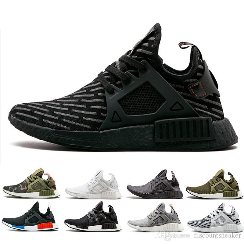 innovative design eb256 88ab8 NMD XR1 Sneaker PK Zebra core Triple Black OG Running Shoes men women  mastermind japan olive NMD XR1 Primeknit sports shoes size 36-45