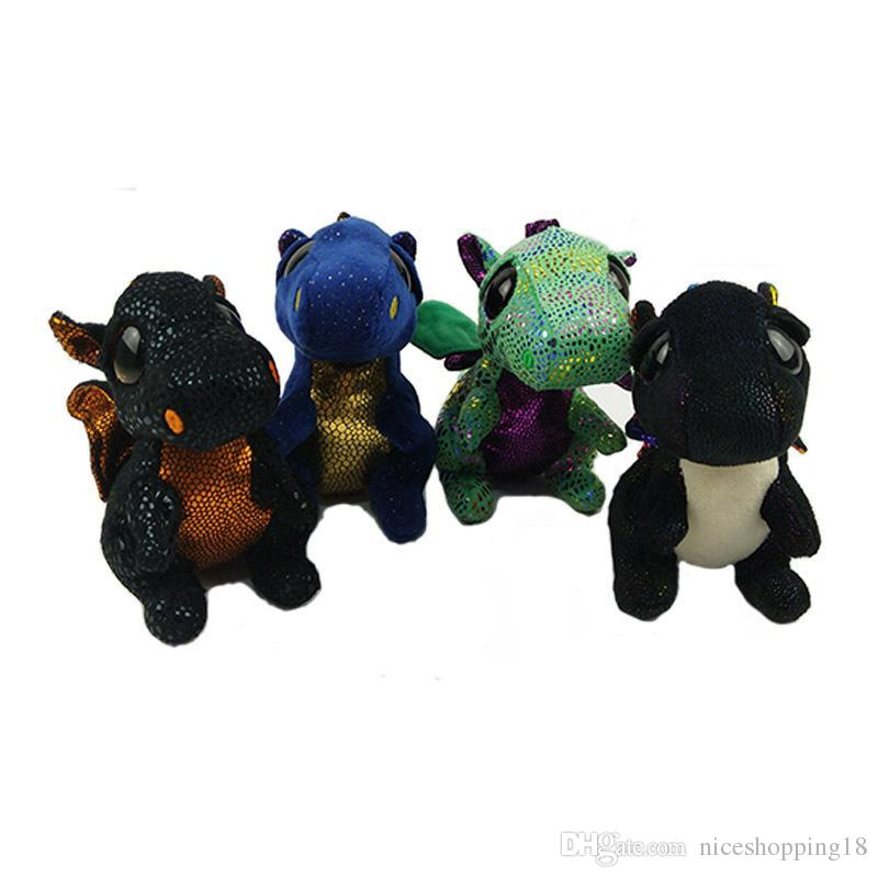 Image of: Clipart 2019 Ty Beanie Boos Plush Toys 15cm Saffire Dragon Stuffed Animals Dolls Super Kawaii Big Eyes Doll Gift For Kids T414 Hot From Niceshopping18 Dhgatecom 2019 Ty Beanie Boos Plush Toys 15cm Saffire Dragon Stuffed Animals