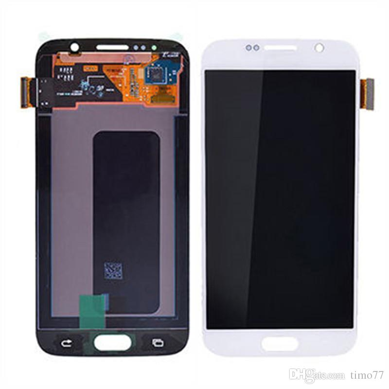 Hot! For Samsung Galaxy S6 100% Original screen Quality best G920 G920F G920A G920T lcd Screen Display Touch Screen Digitizer Assembly