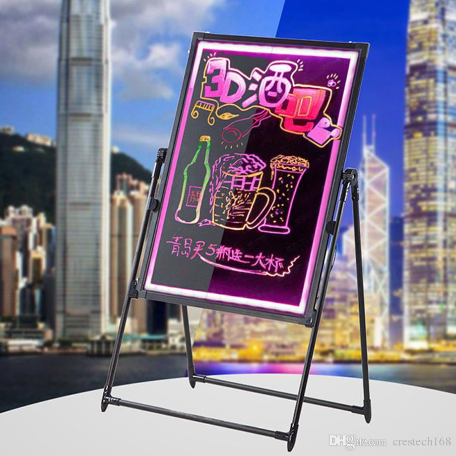 2018 Shop Store Promotion Sign Board Easy Diy Message Chalkboard Wiring Car Audio Promotionshop For Promotional Children Study Hotel Advertisement Lighting From Crestech168