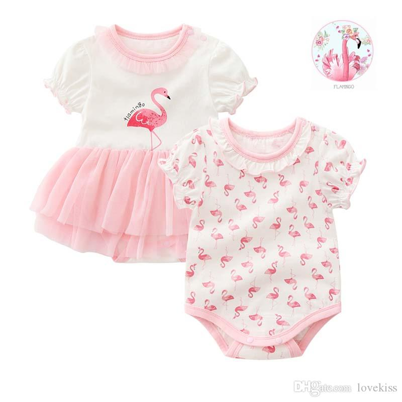 177f8995e 2019 Fashion Cotton Summer New Born Baby Girl Clothes Baby Rompers ...