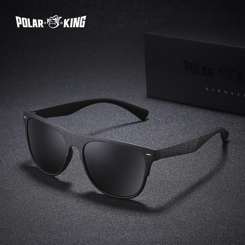 7e9816e27a POLARKING Brand Polarized Sunglasses For Men Fashion Oculos Retro ...