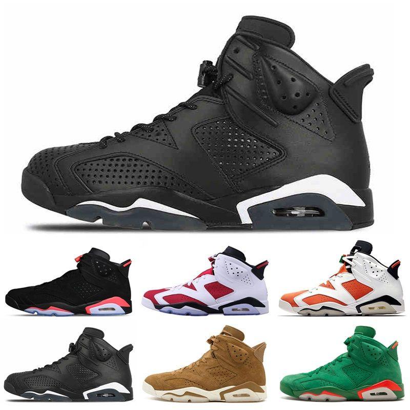 7667897f13 6 Mens Basketball Shoes Classic 6S Men Carmine UNC Blue Red Alternate Oreo  Black Cat Black Blue White Infrared Sports Designer Sneakers