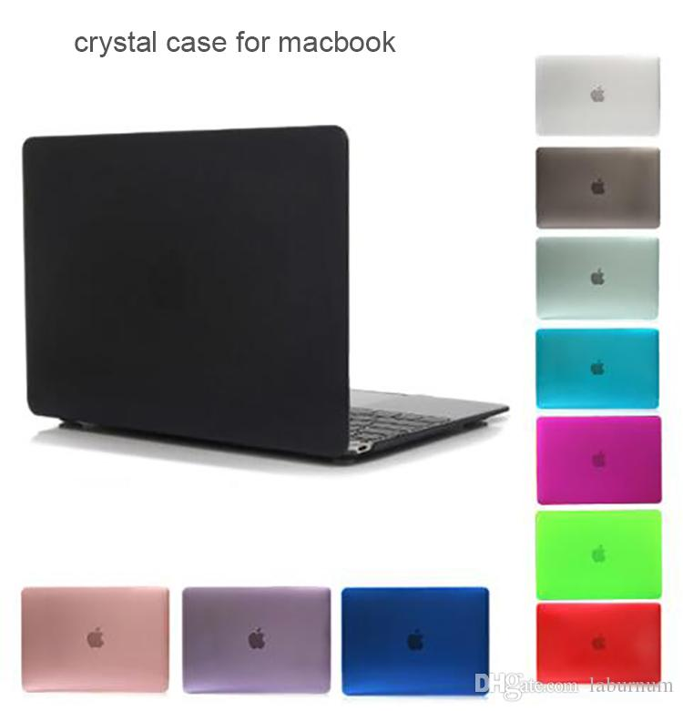 850333bc87a4d 2019 New PC Crystal Shell Case Cover For Apple Macbook Air Pro Retina 11.6  12 13.3 15.4 Inch Touch Bar Laptop Cases For Macbook Bag From Laburnum, ...