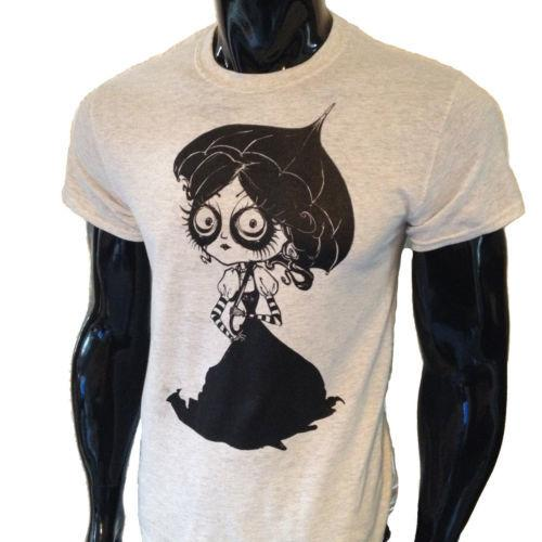 8617600a85f Victorian Girl T Shirt Mens Womens Steampunk Tim Burton Alice Emo Goth  Umbrella Shop T Shirts Online T Shirt Shirt From Uniquetshirts