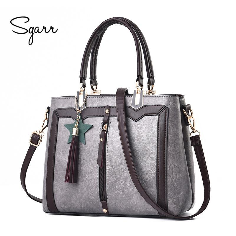 3202ec4ffcc7 SGARR Luxury Designer Ladies Tote Handbags High Quality Fashion ...