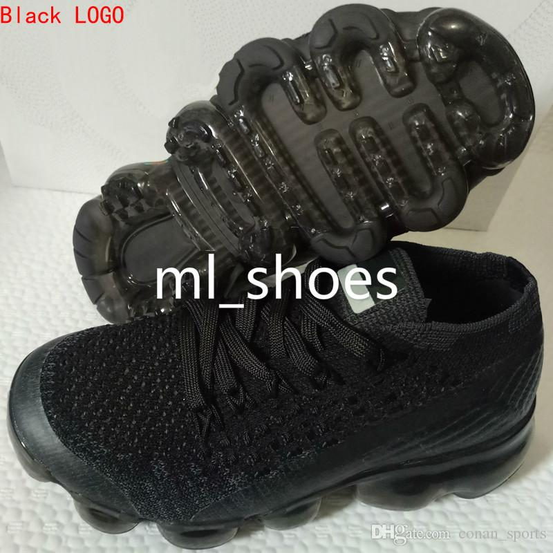 Baby Kids Shoes 2018 Running Shoes Children Athletic Shoes Baby Boy Girl Sneaker Sport Shoe Black White Grey Orange Purple