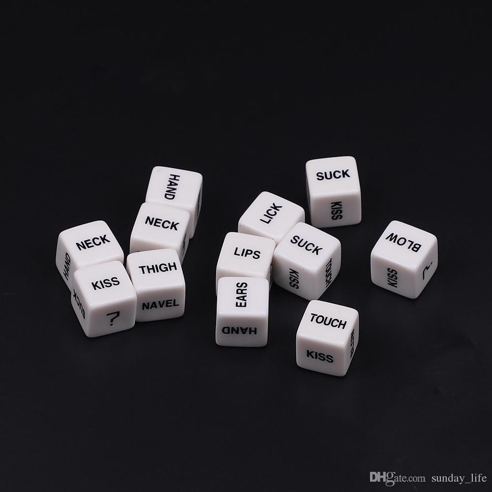 أدنى سعر النرد لعب الجنس مضحك لعبة النرد الكبار الحب الرومانسية المثيرة لعبة الجنس لعب للأزواج Dados RPG