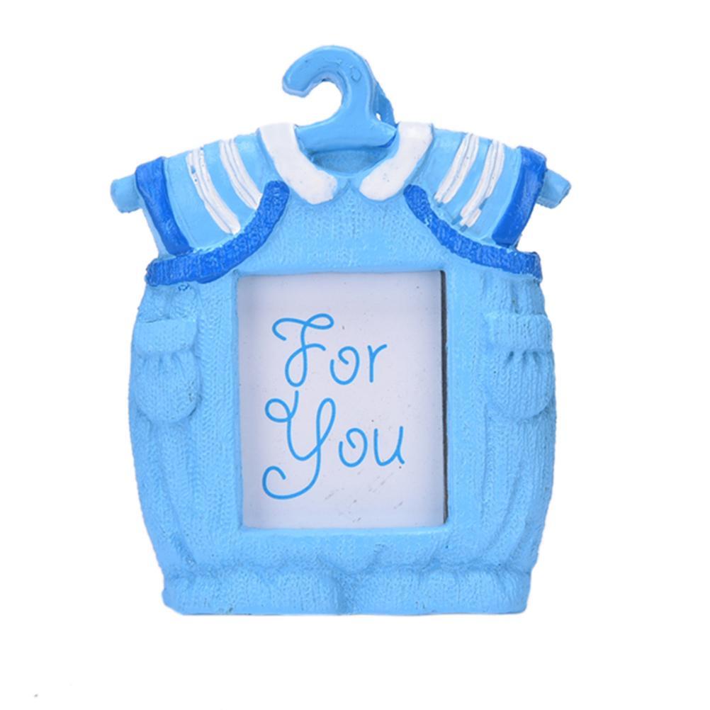 Großhandel Kleine Rosa Blau Bilderrahmen Harz Baby Kleidung Muster ...