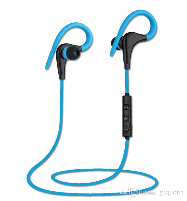 bd6bc0eac15 BT 1 Big Horns Bluetooth Headset Hanging Ear Stereo Intelligent Noise  Reduction One For Two Sports Music Earplugs Headphones Online Headphones  With ...
