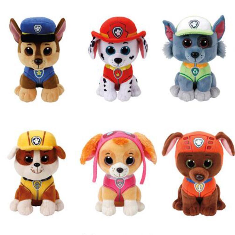 Ty Beanie Boos Dog Plush Toy Doll Stuffed Animal Doggy Chase Skye