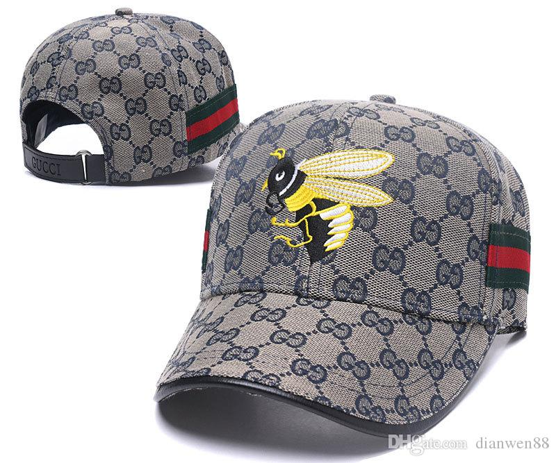 c9c8a81e089 New Fashion Bee Baseball Caps For Men La Flexfit Cap Snoopy Bones ...