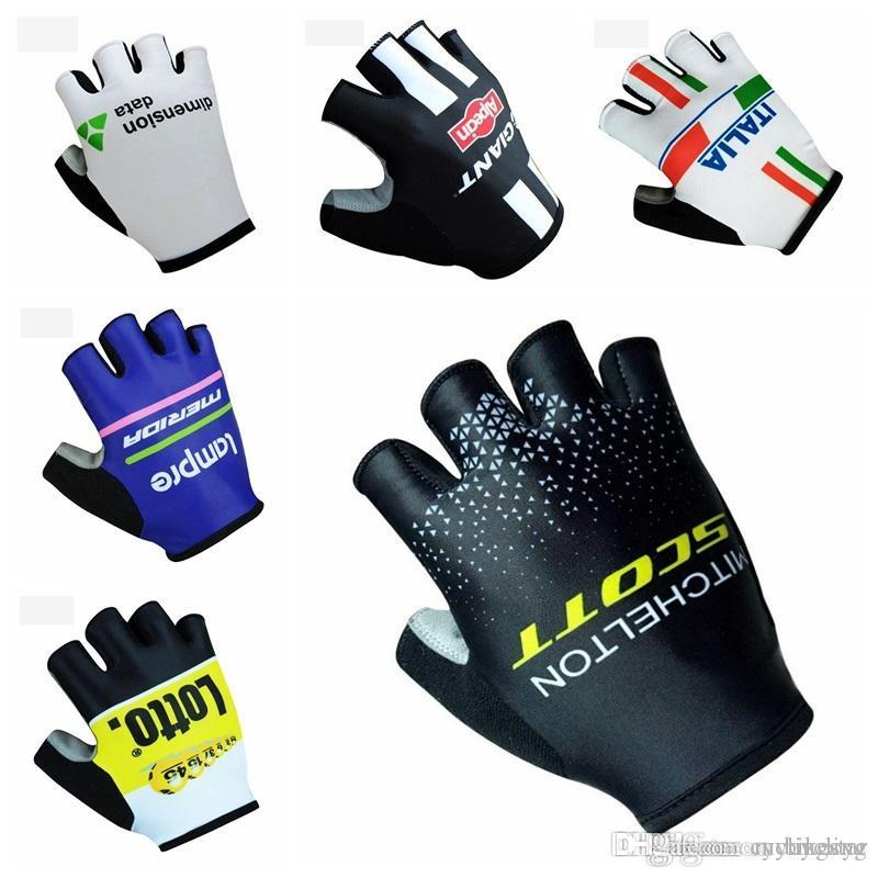 GIANT Bike Cycling Gloves HALF Finger less Anti Slip Bicycle Cycle Gloves Mitts