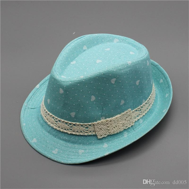 5d3ed40f4dd 2019 Popular Cool Children Cap Mixing Style Good Quality Jazz Caps For Boy  Girl Hat Newborn Photography Prop Trilby 6 8gn Dd From Dd005