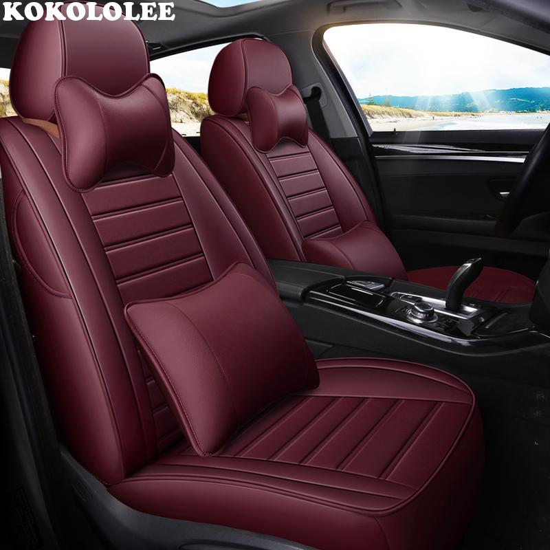 Wholesale Auto Leather Car Seat Cover For Subaru Forester Impreza Xv Outback Accessories Covers Vehicle Seats Cute Sets Dog
