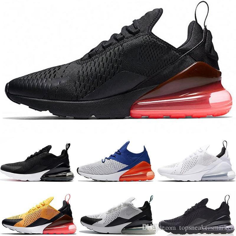 3bb2c803d64b88 2018 New Designer Men Women 270 Running Shoes 270s Run Trainers Oreo ...