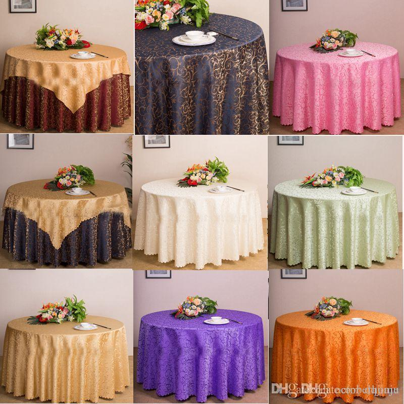 table cloth table cover round for banquet wedding party decoration rh dhgate com